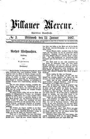Pillauer Merkur on Jan 12, 1887