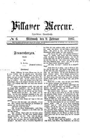 Pillauer Merkur vom 09.02.1887