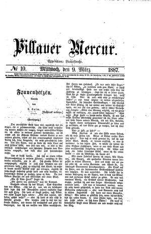 Pillauer Merkur vom 09.03.1887