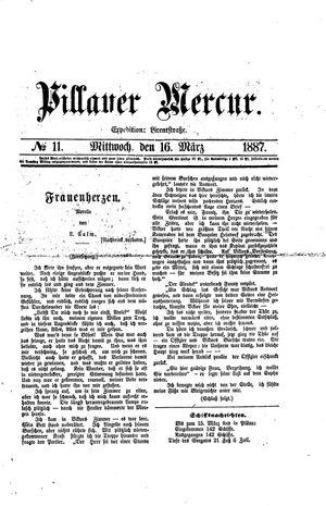 Pillauer Merkur vom 16.03.1887