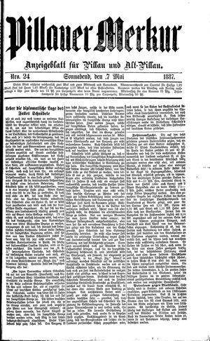 Pillauer Merkur vom 07.05.1887