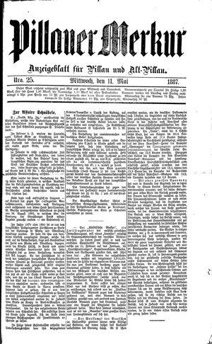 Pillauer Merkur vom 11.05.1887