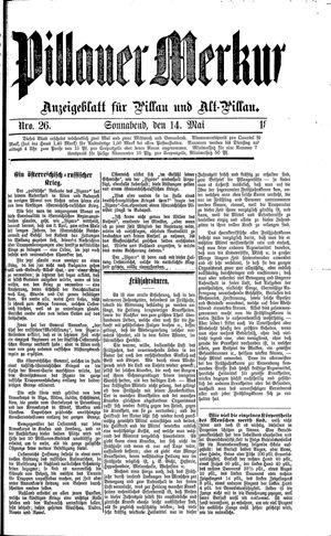 Pillauer Merkur vom 14.05.1887