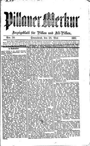 Pillauer Merkur vom 28.05.1887