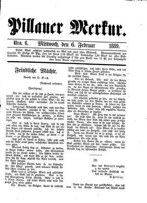 Pillauer Merkur vom 06.02.1889