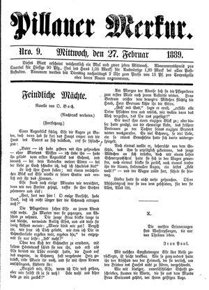 Pillauer Merkur vom 27.02.1889