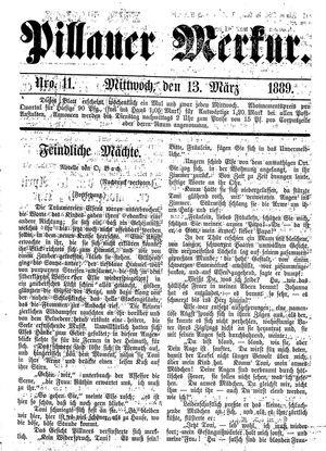 Pillauer Merkur on Mar 13, 1889