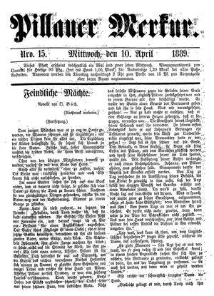 Pillauer Merkur on Apr 10, 1889