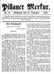 Pillauer Merkur (18.12.1889)