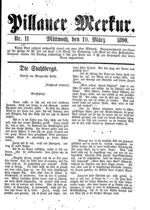 Pillauer Merkur vom 19.03.1890