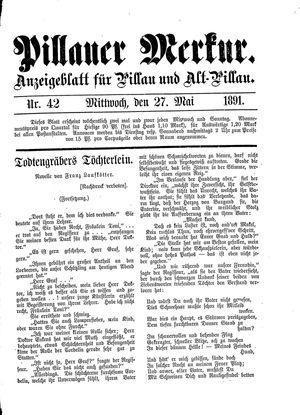 Pillauer Merkur on May 27, 1891