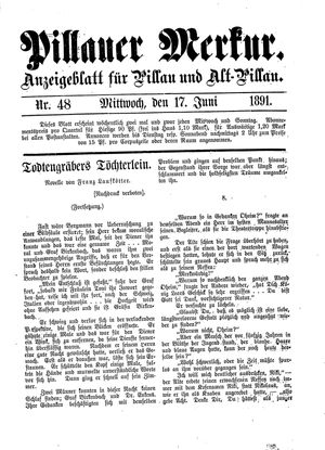 Pillauer Merkur on Jun 17, 1891