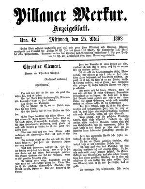 Pillauer Merkur vom 25.05.1892