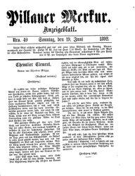 Pillauer Merkur (19.06.1892)