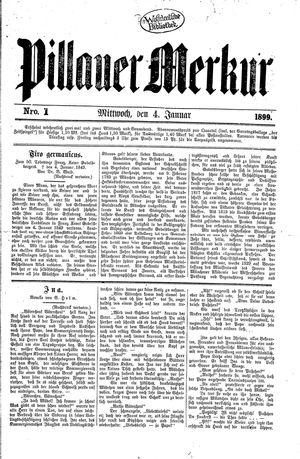Pillauer Merkur vom 04.01.1899