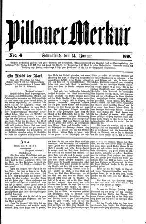 Pillauer Merkur vom 14.01.1899