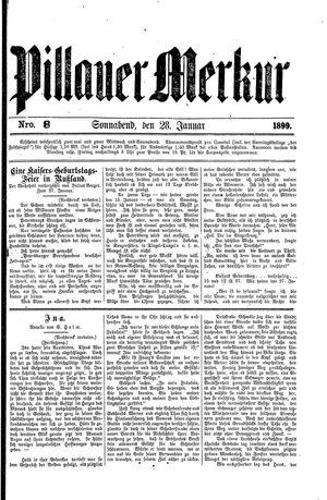 Pillauer Merkur vom 28.01.1899