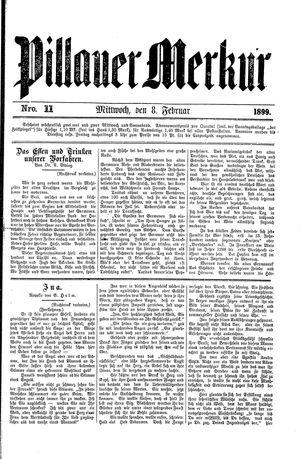 Pillauer Merkur vom 08.02.1899