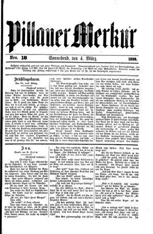 Pillauer Merkur vom 04.03.1899