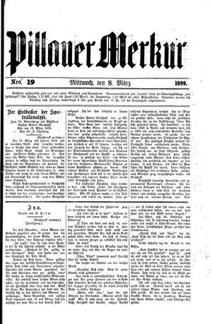 Pillauer Merkur vom 08.03.1899