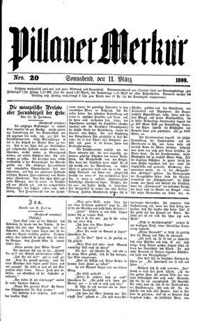 Pillauer Merkur vom 11.03.1899