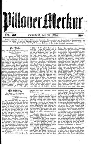 Pillauer Merkur on Mar 18, 1899