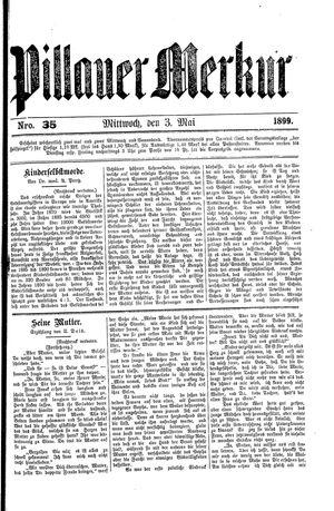 Pillauer Merkur vom 03.05.1899