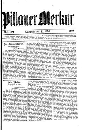 Pillauer Merkur vom 10.05.1899