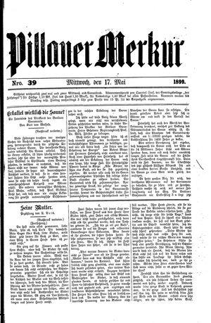 Pillauer Merkur vom 17.05.1899