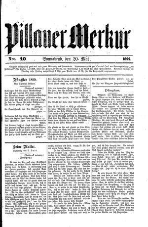 Pillauer Merkur vom 20.05.1899