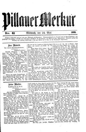 Pillauer Merkur vom 24.05.1899