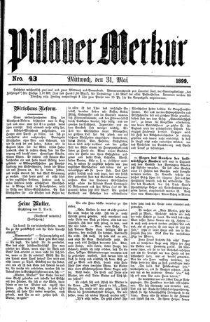 Pillauer Merkur vom 31.05.1899