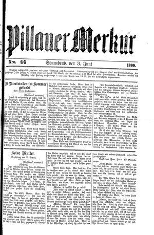 Pillauer Merkur vom 03.06.1899