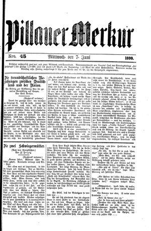 Pillauer Merkur vom 07.06.1899