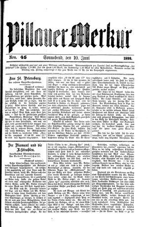 Pillauer Merkur vom 10.06.1899