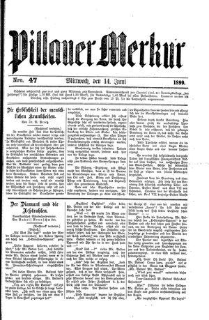 Pillauer Merkur vom 14.06.1899