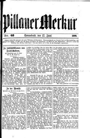 Pillauer Merkur vom 17.06.1899