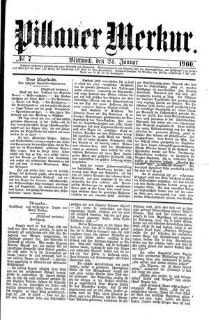 Pillauer Merkur vom 24.01.1900