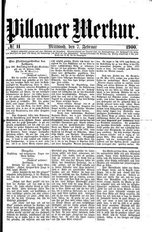 Pillauer Merkur on Feb 7, 1900