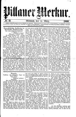 Pillauer Merkur vom 14.03.1900