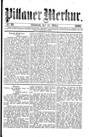 Pillauer Merkur vom 21.03.1900