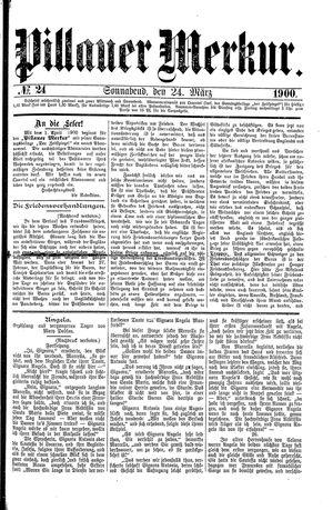 Pillauer Merkur vom 24.03.1900