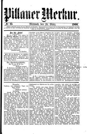 Pillauer Merkur vom 28.03.1900