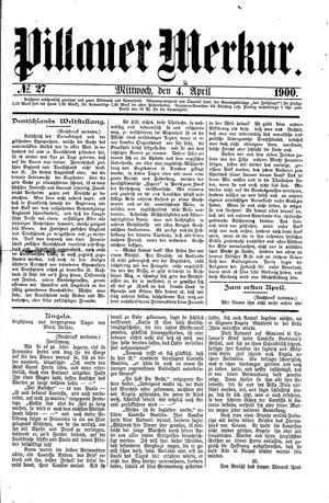Pillauer Merkur on Apr 4, 1900