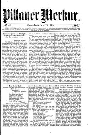 Pillauer Merkur vom 19.05.1900