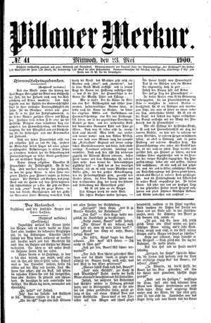 Pillauer Merkur vom 23.05.1900