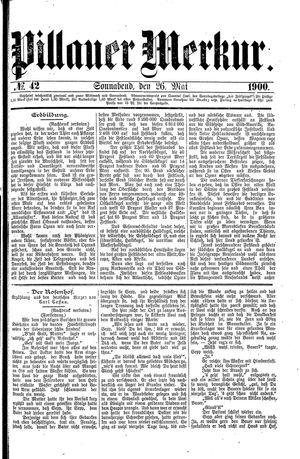 Pillauer Merkur vom 26.05.1900
