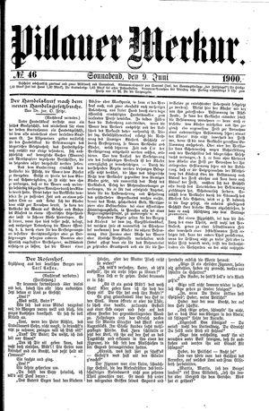 Pillauer Merkur vom 09.06.1900
