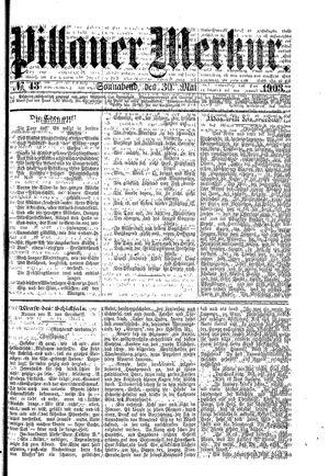 Pillauer Merkur on May 30, 1903