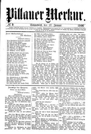 Pillauer Merkur vom 27.01.1906